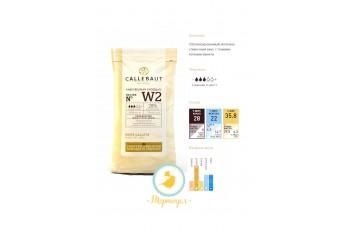 "Шоколад белый ""Callebaut W2"" 28 % -1 кг фасовка (W2NV-595)"