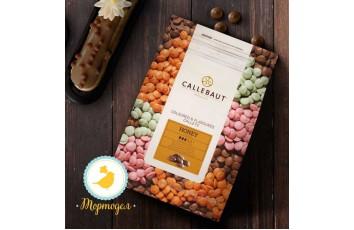 """Шоколад молочный с медом """"Callebaut Honey """" 33,2 % - 1 кг фасовка (CHF-Q1HONEY-E4-U70)"""