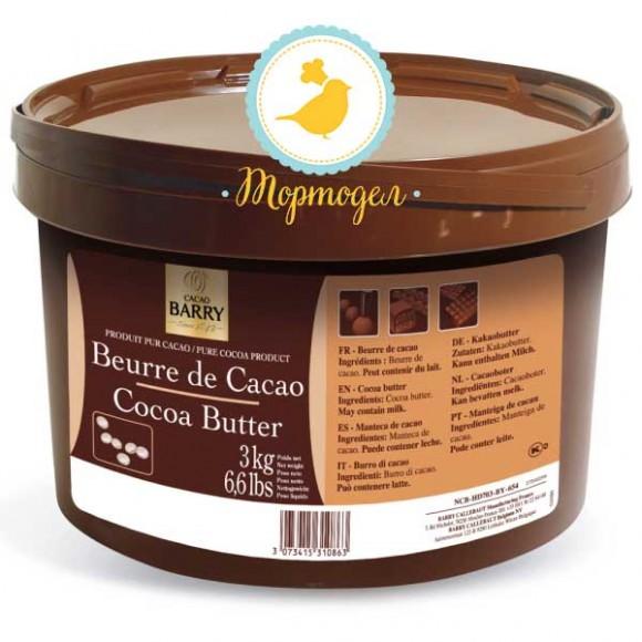 Какао масло Cacao Barry - 3 кг Оригинальная упаковка (NCB-HD703-BY-654).Купить в Киеве,Харькове по лучшей цене в интернет магазине Тортодел