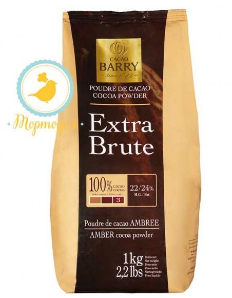 Алкализированный какао-порошок Cacao Barry Extra Brut - 0,1 кг фасовка (DCP-22SP-760).Купить в Киеве,Харькове по лучшей в интернет магазине Тортодел