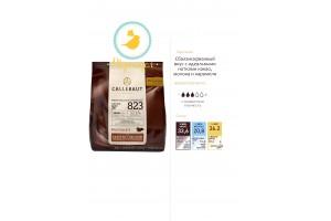 """Шоколад молочный """"Callebaut Select"""" 33,6 % - 0,4 кг Оригинальная упаковка(823NV-595)"""
