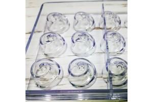Поликарбонатная форма для конфет Вертушка 21 шт.