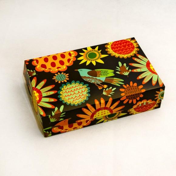 Коробка для еклеров, зефира, печенья и прочих десертов 230*150*60 мм Роспись.Купить в Харькове,Киеве по лучшей цене в интернет- магазине Тортодел