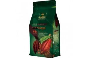 Шоколад чёрный Cacao Barry Inaya, 65% - 1 кг оригинальная упаковка (CHD-S65INAY-E1-U68)