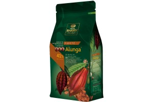Шоколад молочный Cacao Barry Alunga 41 % - 1 кг оригинальная упаковка (CHM-Q41ALUN-E1-U68)