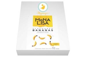 Декор банан шоколад Mona Lisa 80x4мм 210гр