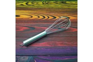 Венчик кухонный металлическая ручка №3