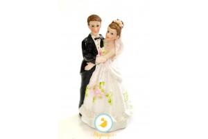 Фигурка жених и невеста 12 см 1202С