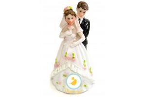 Фигурка жених и невеста 12 см 1202D
