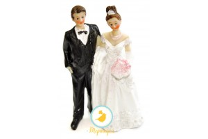 Фигурка жених и невеста 12 см 1203В