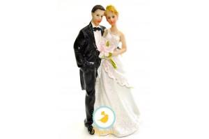 Фигурка жених и невеста 12 см 1203D
