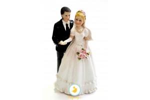 Фигурка жених и невеста 15 см 1204В