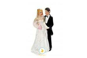 Фигурка жених и невеста 15 см 1204D