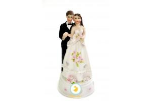 Фигурка жених и невеста 17 см 1205А