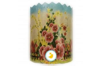 Форма пасхальная бумажная d150 Цветы №3