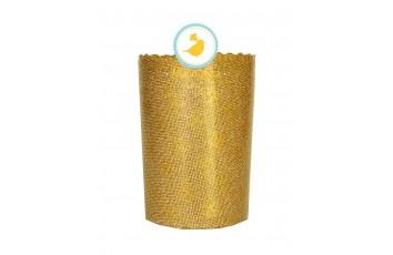 Форма пасхальная бумажная d70 Золото Стандарт