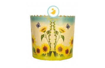 Форма пасхальная бумажная d110 Цветы №4