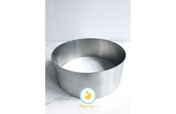 Форма металлическая круг D-250мм высота 10 см