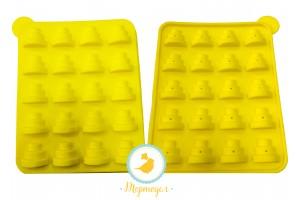 Форма силиконовая для кейк-попсов тортики (ёлочки)