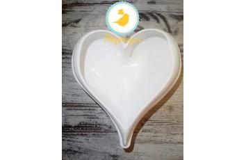 Форма силиконовая для евродесертов Amore №2 (Сердце №2)