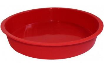 Форма силиконовая для выпечки круг №2 d 25,5 см