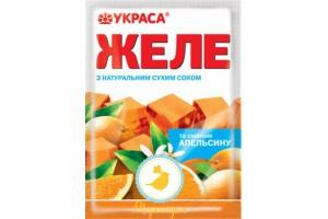 Желе вкус Апельсин натуральные красители