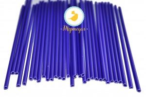 Палочки для кейк-попсов Фиолетовые 50шт. высота 15 см, д 5мм