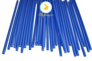 Палочки для кейк-попсов Синие 50шт. высота 15 см, д 5мм