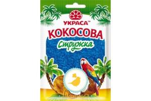 Кокосовая стружка Голубая 25г