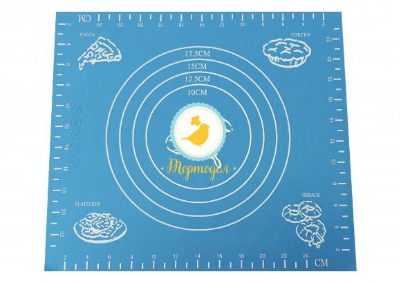 Коврик с разметкой маленький 24 х 24 см.Купить в Киеве,Харькове и Украине по лучшей цене в интернет магазине Тортодел