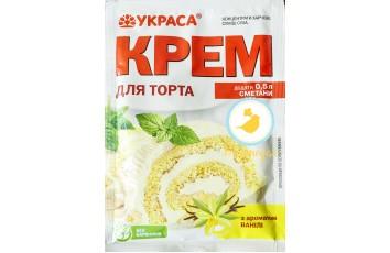 Крем для торта с ароматом Ванили 70 г ТМ Украса