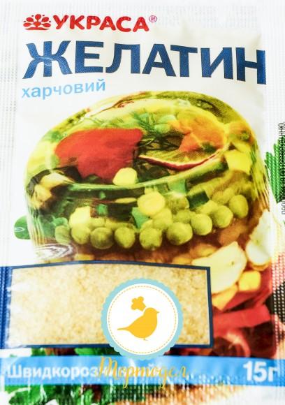 Желатин быстрорастворимый /Купить в Киеве,Харькове по лучшей в интернет магазине Тортодел