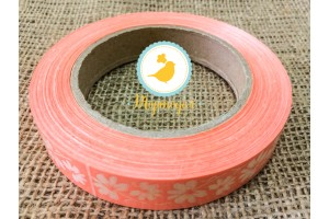 Декоративная лента 2*50 персиковая