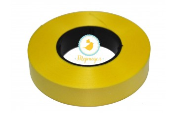 Декоративная лента 2*50 Желтая Dolce