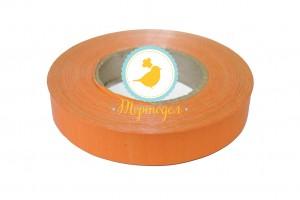 Декоративная лента 2*50 оранжевая