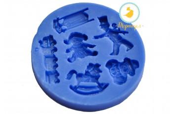 Силиконовый молд  Детский №1 (игрушки)