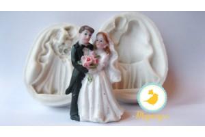 3D молд Жених и невеста 2