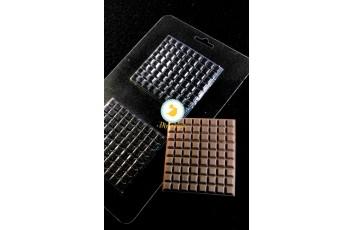 Молд пластиковый Шоколадный лист