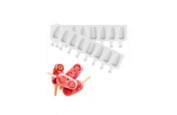Форма силиконовая для евродесертов Эскимо mini из 8 шт
