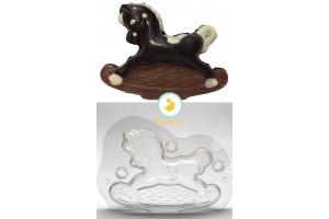 Поликарбонатная форма для шоколада Лошадка