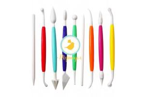 Набор инструментов для моделирования из 9 ед. №2