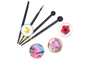Набор инструментов для создания цветов из 4 ед.