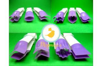 Набор щипцов  с гладким краем для мастики 10 шт.