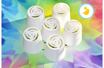 Насадка пластиковая №26 - Роза 7 лепестков