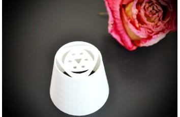 Насадка пластиковая №31 - Тюльпан 6 лепестковый маленький