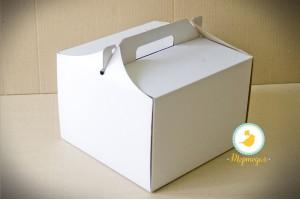Коробка для торта 255х255х185 мм