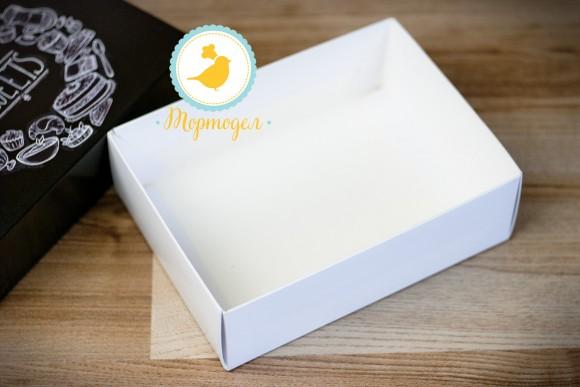 Коробка для Макаронс 115х155х50 Черная (на 12 шт).Купить в Харькове,Киеве по лучшей цене в интернет- магазине Тортодел