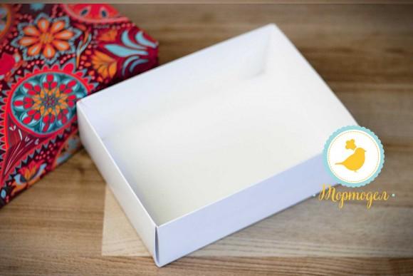 Коробка для Макаронс 115х155х50 Орнамент (на 12 шт яркий фон).Купить в Харькове,Киеве по лучшей цене в интернет- магазине Тортодел