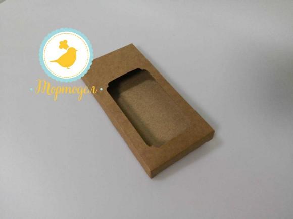 Коробка для шоколадки 160*200*30 крафт.Купить в Харькове,Киеве по лучшей цене в интернет магазине Тортодел