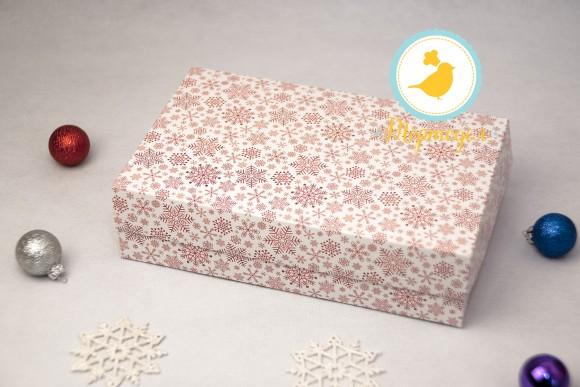 Коробка для еклеров, зефира, печенья и прочих десертов 230*150*60 мм Снежинка.Купить в Харькове,Киеве по лучшей цене в интернет магазине Тортодел